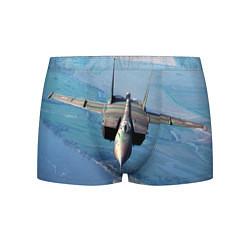 Трусы-боксеры мужские МиГ-31 цвета 3D-принт — фото 1