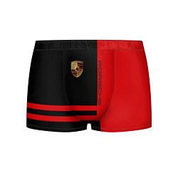 Трусы-боксеры мужские Porsche: Red Sport цвета 3D — фото 1