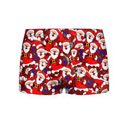 Мужские 3D-трусы боксеры с принтом Ded Moroz, цвет: 3D, артикул: 10278176103997 — фото 1