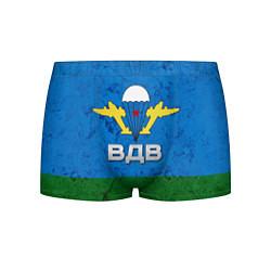 Мужские 3D-трусы боксеры с принтом Флаг ВДВ, цвет: 3D, артикул: 10064285303997 — фото 1