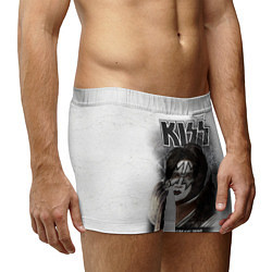 Трусы-боксеры мужские KISS: Adult spaceman wig цвета 3D-принт — фото 2