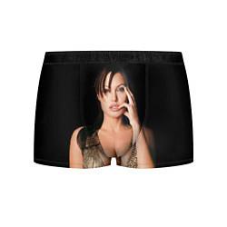Трусы-боксеры мужские Angelina Jolie цвета 3D-принт — фото 1