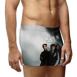 Трусы-боксеры мужские Fall Out Boy: Guys цвета 3D — фото 2