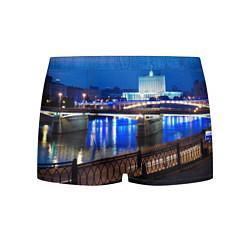 Трусы-боксеры мужские Москва цвета 3D — фото 1