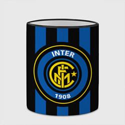 Кружка 3D Inter FC 1908 цвета 3D-черный кант — фото 2