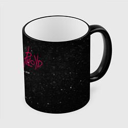 Кружка 3D Pink Phloyd: Lonely star цвета 3D-черный кант — фото 1