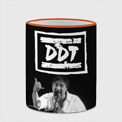 Кружка 3D ДДТ цвета 3D-оранжевый кант — фото 2