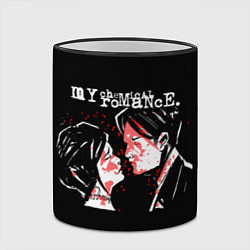 Кружка 3D My Chemical Romance цвета 3D-черный кант — фото 2