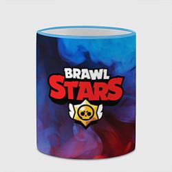 Кружка 3D BRAWL STARS цвета 3D-небесно-голубой кант — фото 2