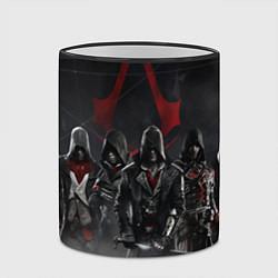 Кружка 3D Assassin's Creed Syndicate цвета 3D-черный кант — фото 2