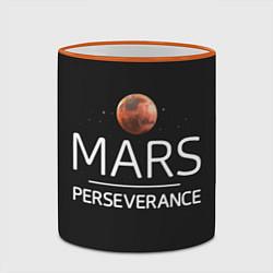 Кружка 3D Марс цвета 3D-оранжевый кант — фото 2