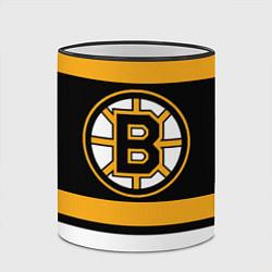 Кружка 3D Boston Bruins цвета 3D-черный кант — фото 2