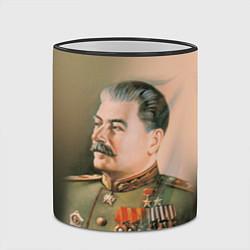 Кружка 3D Иосиф Сталин цвета 3D-черный кант — фото 2