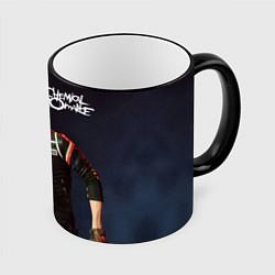 Кружка 3D Gerard Way цвета 3D-черный кант — фото 1