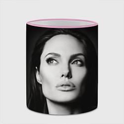 Кружка 3D Mono Jolie цвета 3D-розовый кант — фото 2