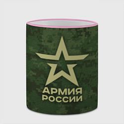Кружка 3D Армия России цвета 3D-розовый кант — фото 2
