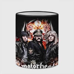 Кружка 3D Motorhead Band цвета 3D-черный кант — фото 2