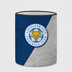 Кружка 3D Leicester City FC цвета 3D-черный кант — фото 2