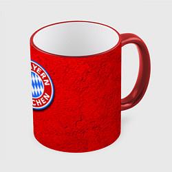 Кружка 3D Bayern FC цвета 3D-красный кант — фото 1