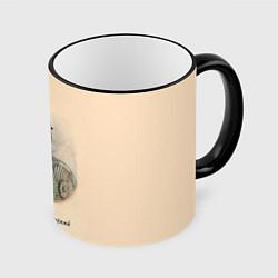 Кружка 3D Дмитрий Пожарский 1578-1642 цвета 3D-черный кант — фото 1