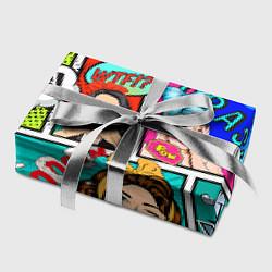 Бумага для упаковки POP ART цвета 3D — фото 2