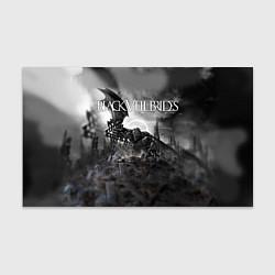 Бумага для упаковки Black Veil Brides: Faithless цвета 3D-принт — фото 1