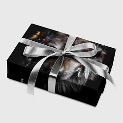 Бумага для упаковки Волк-шаман цвета 3D — фото 2