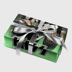 Бумага для упаковки Kiss цвета 3D — фото 2