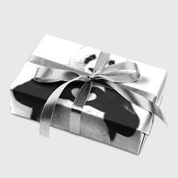 Бумага для упаковки Panda Love цвета 3D-принт — фото 2