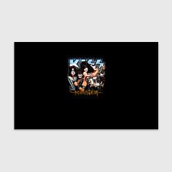 Бумага для упаковки Kiss Monster цвета 3D-принт — фото 1