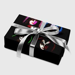 Бумага для упаковки KISS: Acid Colours цвета 3D — фото 2