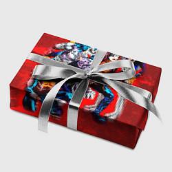 Бумага для упаковки KISS: Hot Blood цвета 3D-принт — фото 2