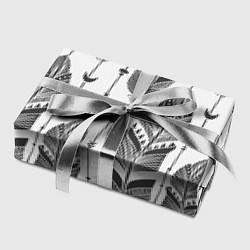 Бумага для упаковки Перья цвета 3D — фото 2