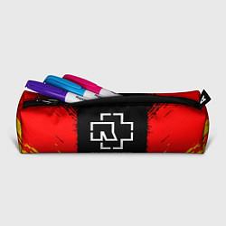 Пенал для ручек Rammstein цвета 3D-принт — фото 2