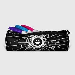 Пенал для ручек BLACK MIRROR цвета 3D-принт — фото 2