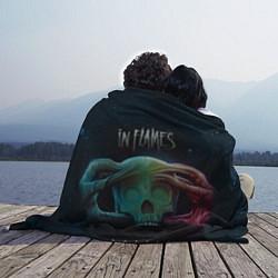 Плед флисовый In Flames: Battles цвета 3D — фото 2