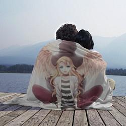 Плед флисовый Angels of Death цвета 3D-принт — фото 2