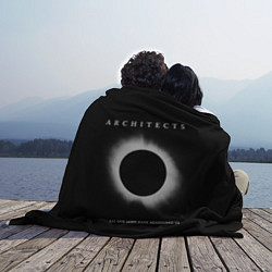 Плед флисовый Architects: Black Eclipse цвета 3D — фото 2