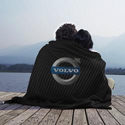 Плед флисовый VOLVO цвета 3D-принт — фото 2