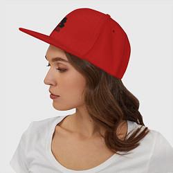 Кепка-снепбек 2pac цвета красный — фото 2