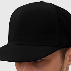 Кепка-снепбек Drum n Bass: More Bass цвета черный — фото 1
