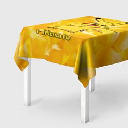 Скатерть для стола Pikachu цвета 3D-принт — фото 2