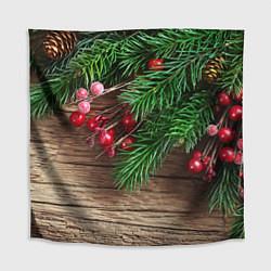 Скатерть для стола Дуx рождества цвета 3D-принт — фото 1