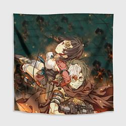 Скатерть для стола Воин крепости цвета 3D — фото 1