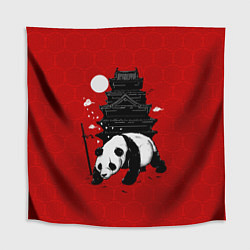 Скатерть для стола Panda Warrior цвета 3D — фото 1