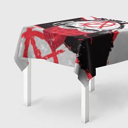 Скатерть для стола АлисА: Анархия цвета 3D — фото 2