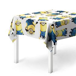 Скатерть для стола Minions Pattern цвета 3D — фото 2