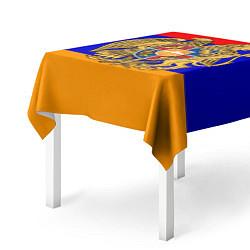 Скатерть для стола Герб и флаг Армении цвета 3D-принт — фото 2