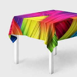 Скатерть для стола Абстракция цвета цвета 3D — фото 2