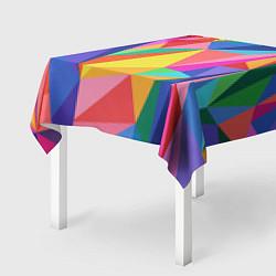 Скатерть для стола Радуга цвета 3D — фото 2